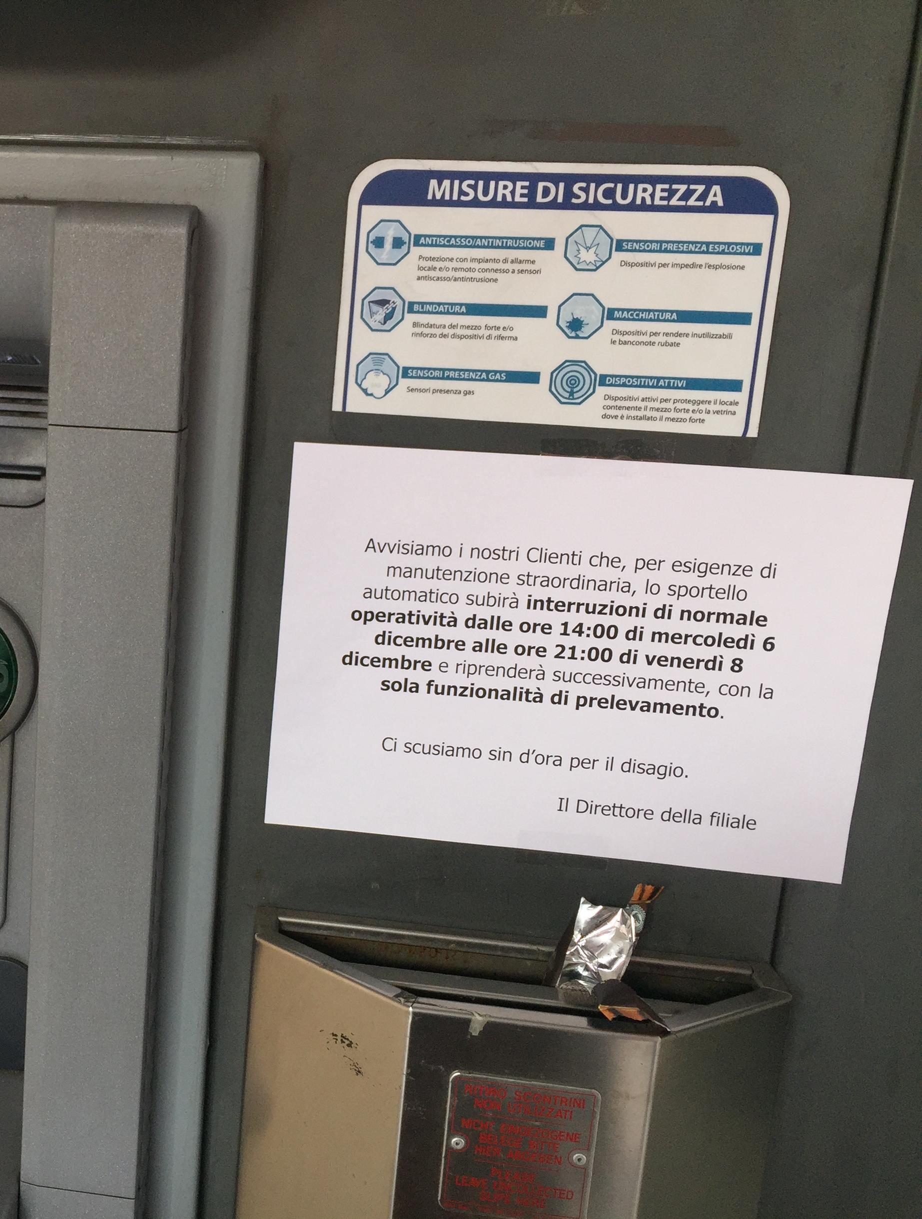 Banche Venete Via Al Trasloco In Intesa Sanpaolo Bancomat