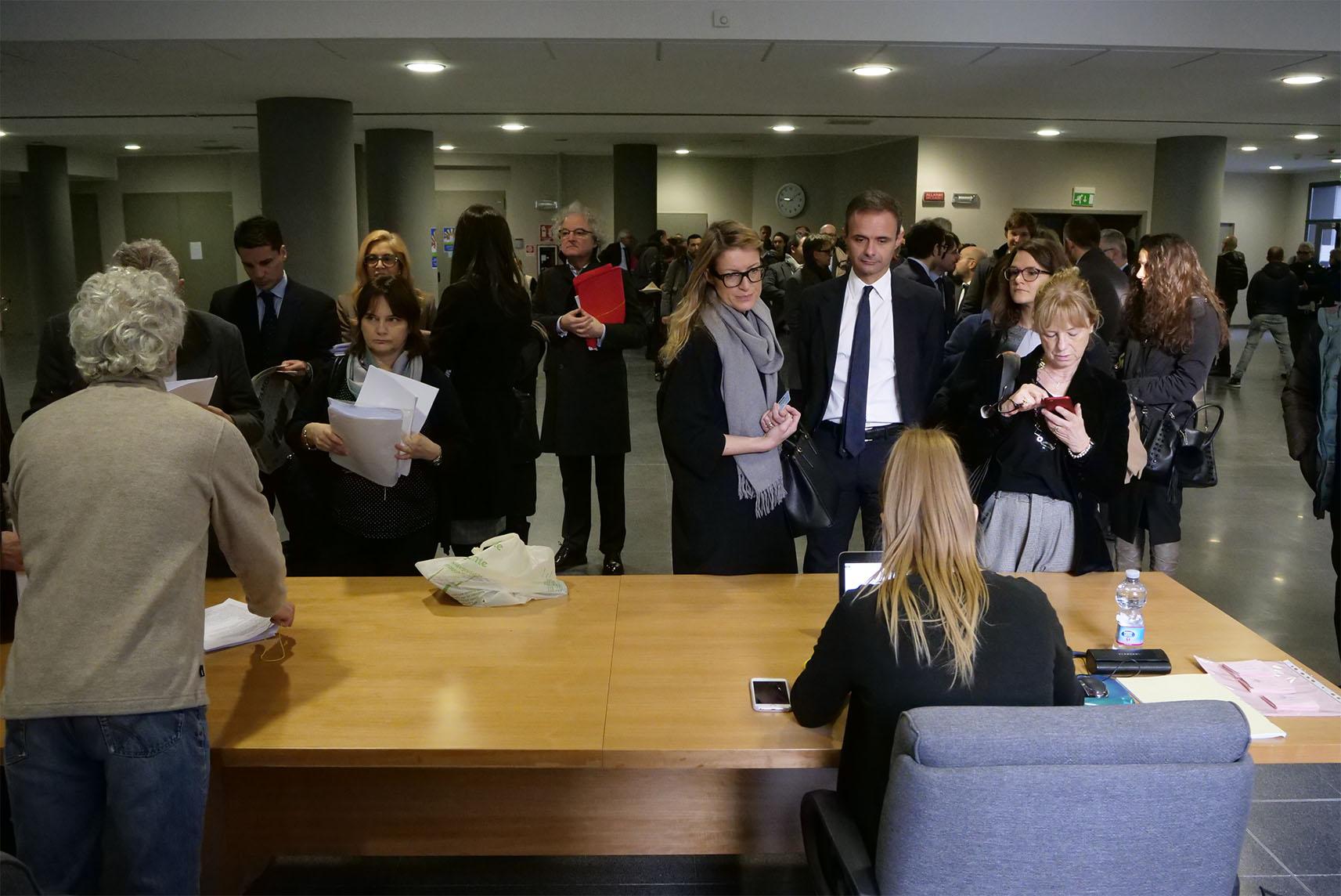 La costituzione delle parti civili a Vicenza. Treviso studierà il precedente