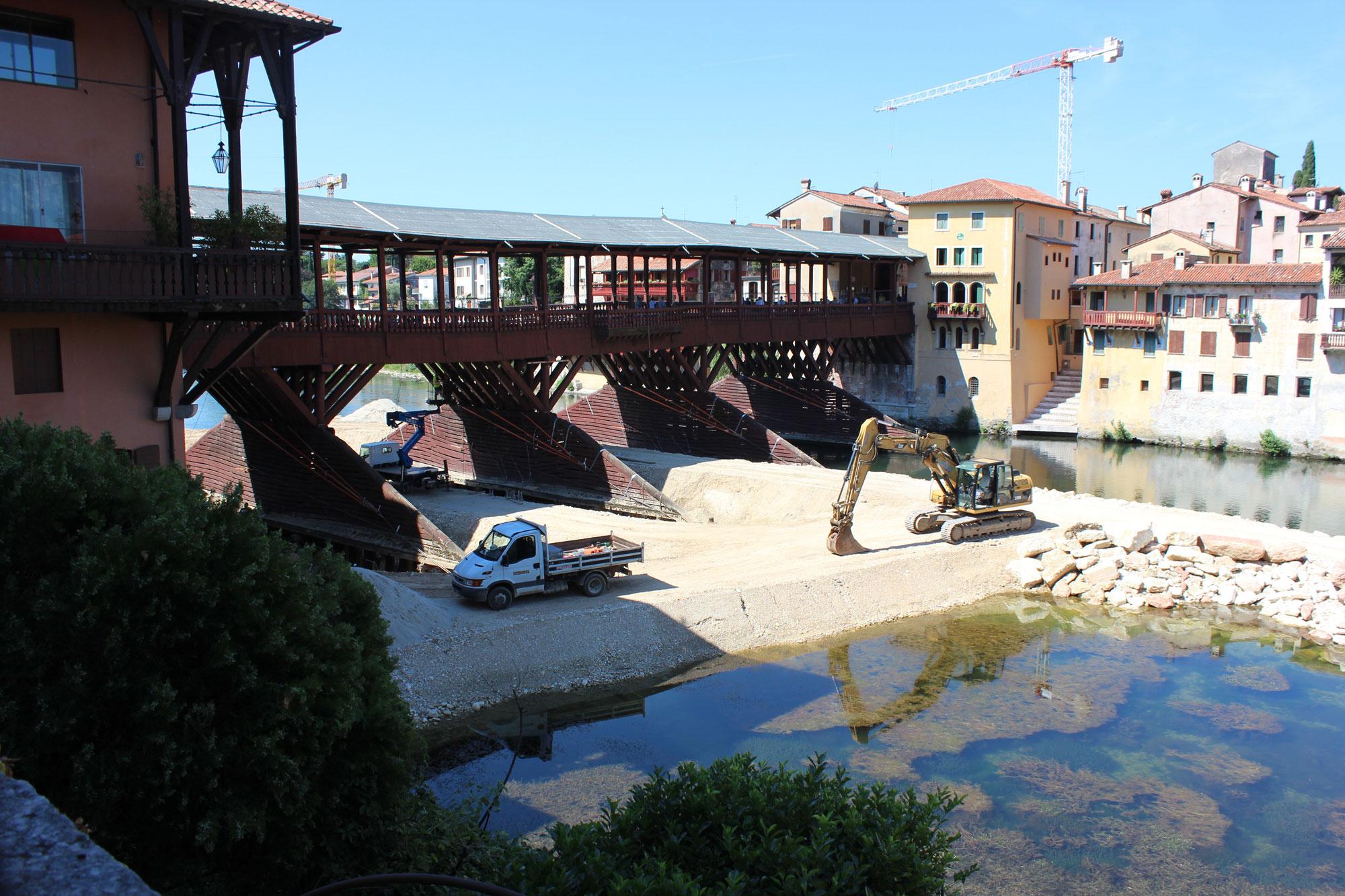 Architetto Bassano Del Grappa vicenza, bassano: l'ultima lite ferma i lavori del ponte. l
