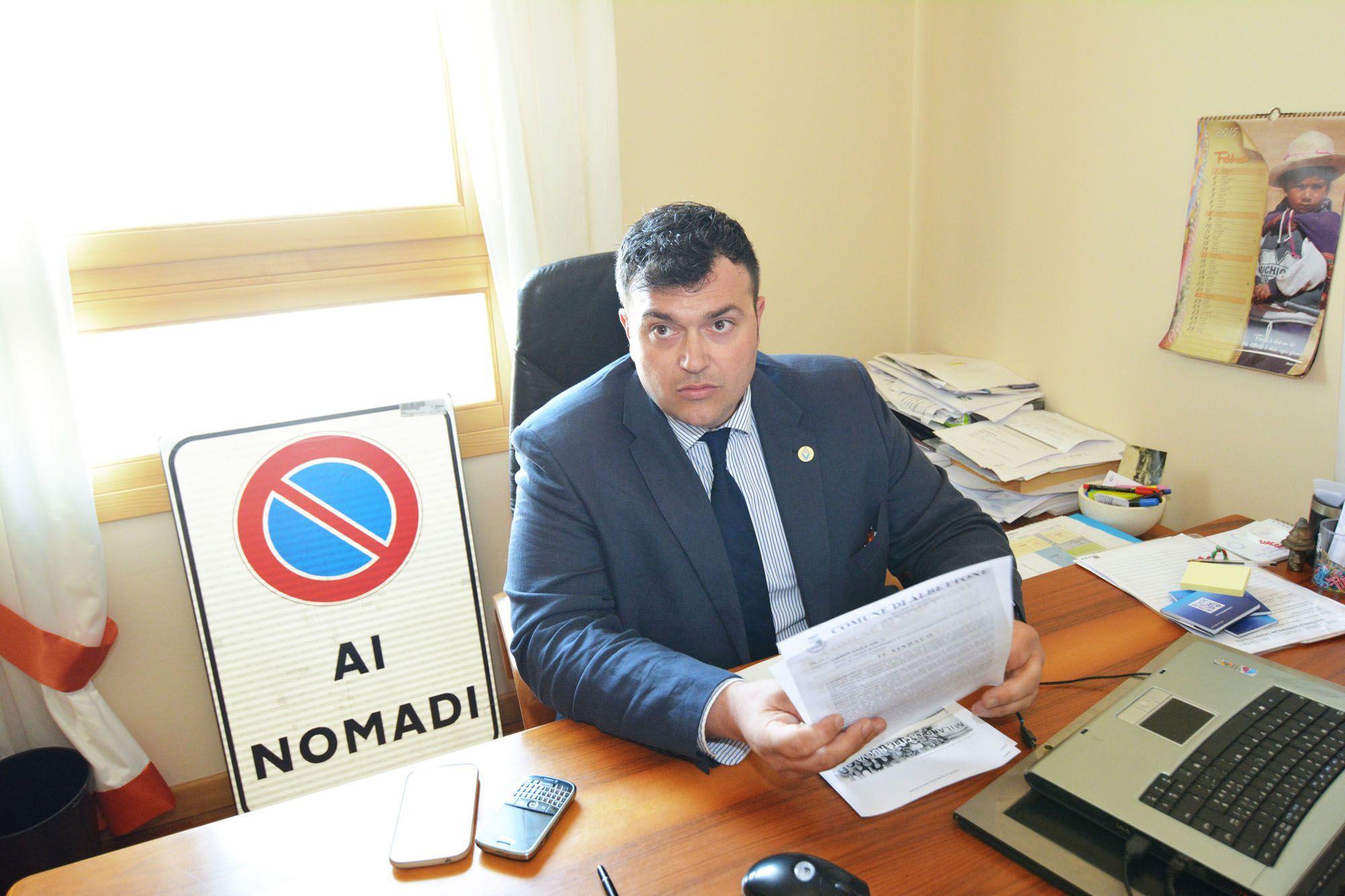 Il sindaco di Albettone Joe Formaggio