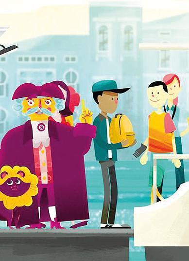 Turisti un numero per le proteste e airbnb fa i cartoni animati