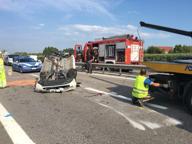 Verona, l'attore Marco Paolini tampona auto in A4: due donne ferite
