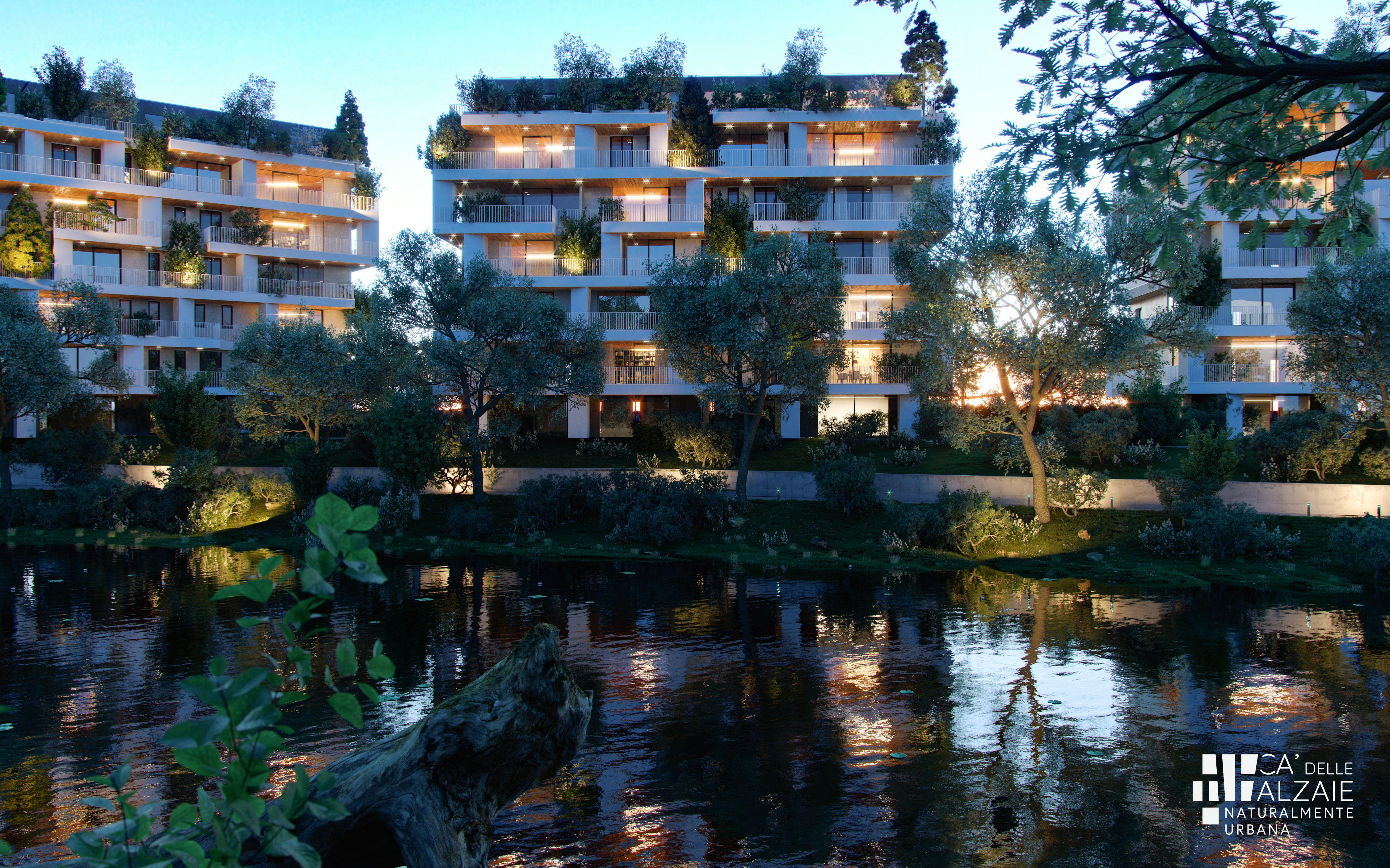 Offerte Lavoro Architetto Treviso treviso. il «bosco verticale» che dialoga con il sile. le