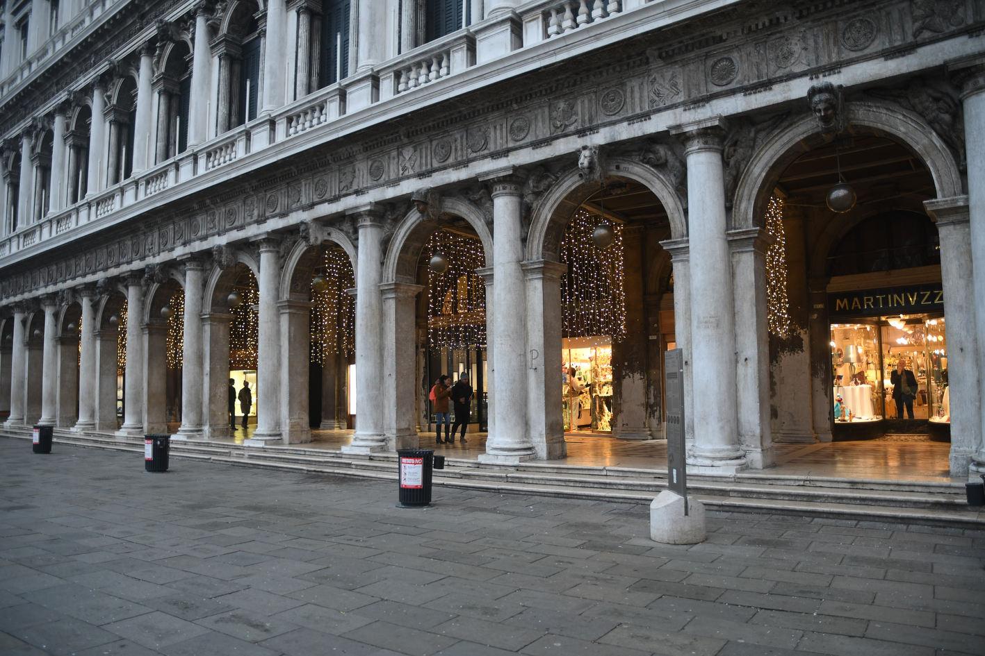 Venezia dal caff florian alla gioielleria nardi negozi for Negozi arredamento venezia