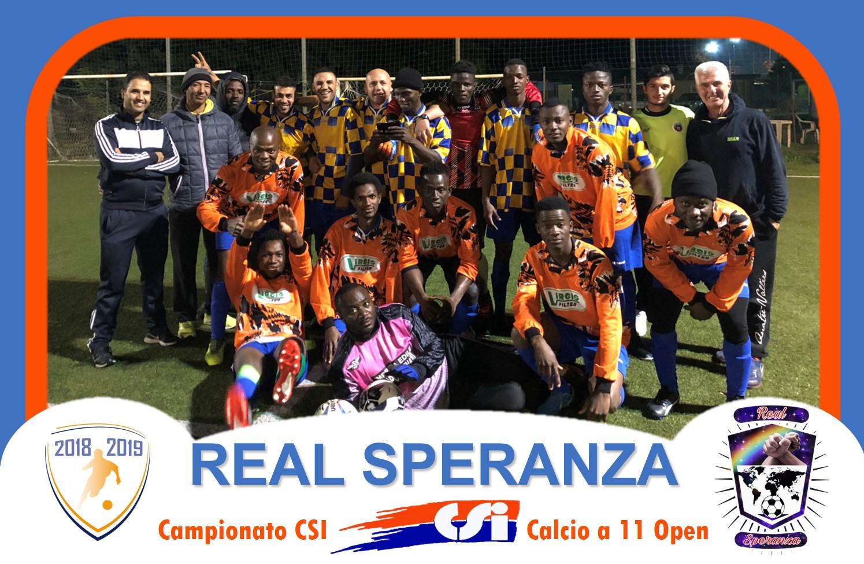 La foto del Real Speranza tratta dal sito del Campionato CSI di Padova