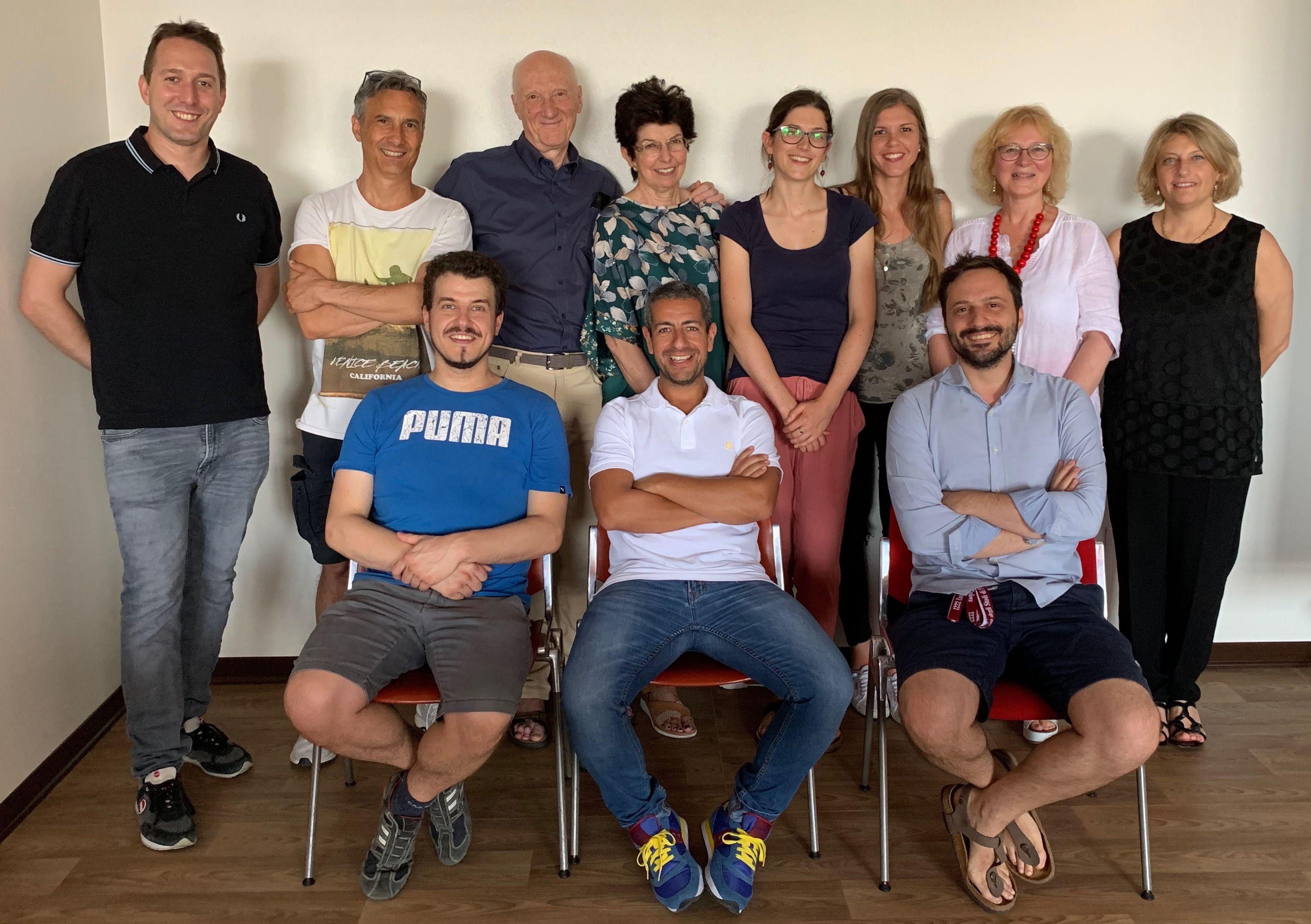 Il gruppo di ricercatori dell'università di Padova