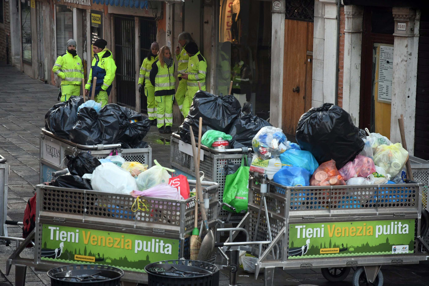 Venezia, oltre 1700 domande per diventare spazzino ...