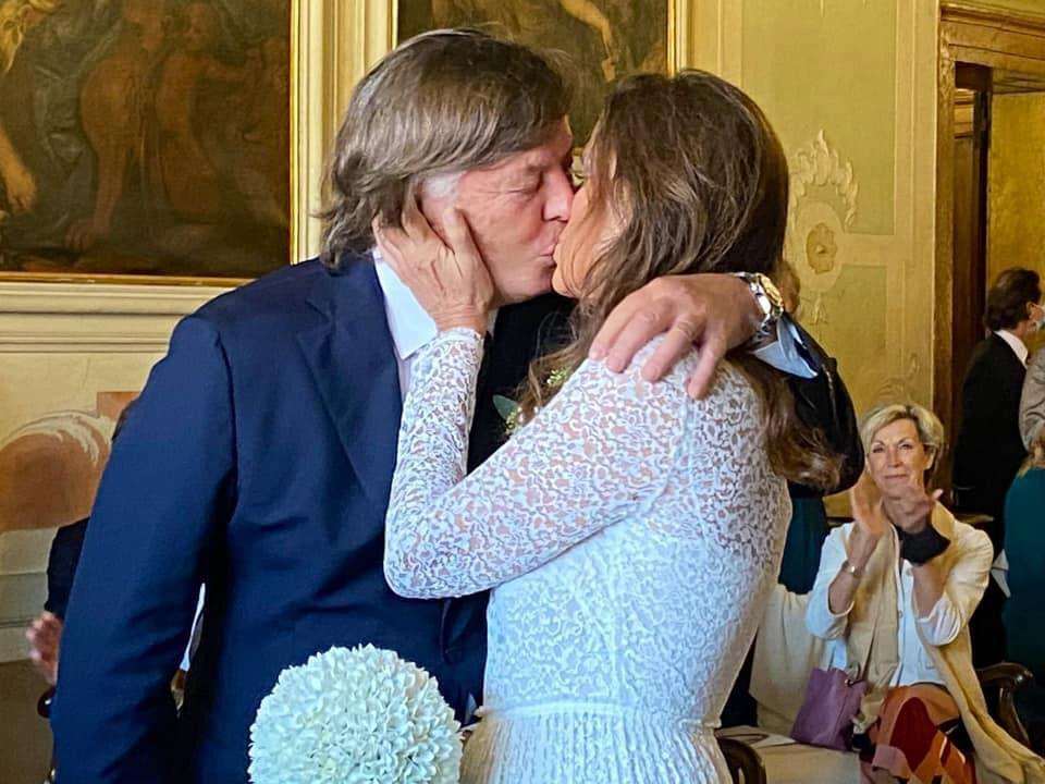 Adriano Panatta e Anna Bonamigo, il matrimonio a Venezia -  CorrieredelVeneto.it