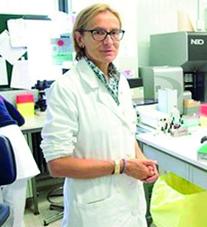 Giustina De Silvestro, direttore del Centro immunotrasfusionale in Azienda ospedaliera a Padova